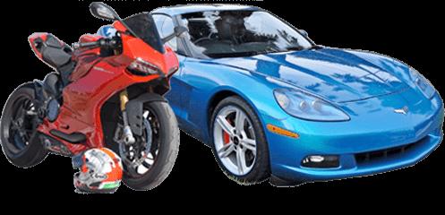 Beleihung Auto und Motorrad